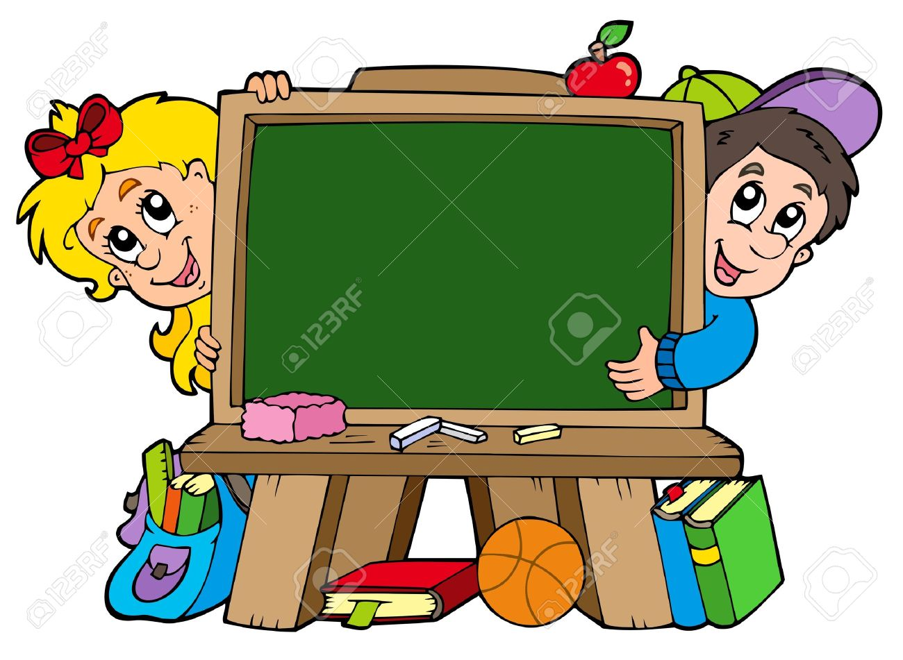 1300x951 Blackboard Clipart School Child