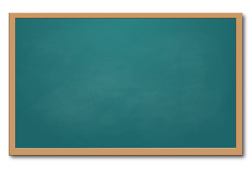 500x337 Chalkboard Clip Art For School Clipart
