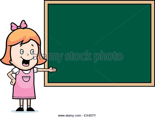 640x486 Happy Cartoon Child Student Chalkboard Stock Photos Amp Happy