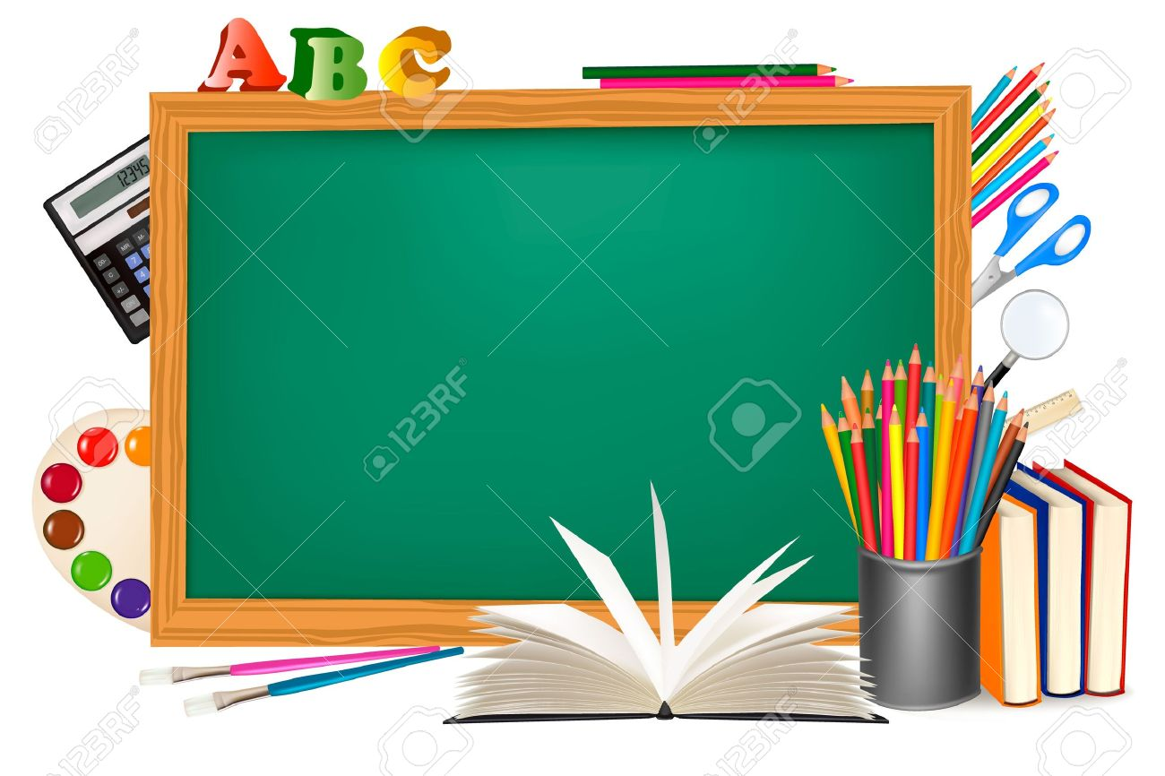 1300x866 Blackboard Clipart Back To School