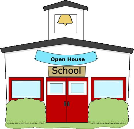 467x450 Open House School Clip Art Clipart