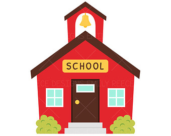 340x270 School House Clipart Images