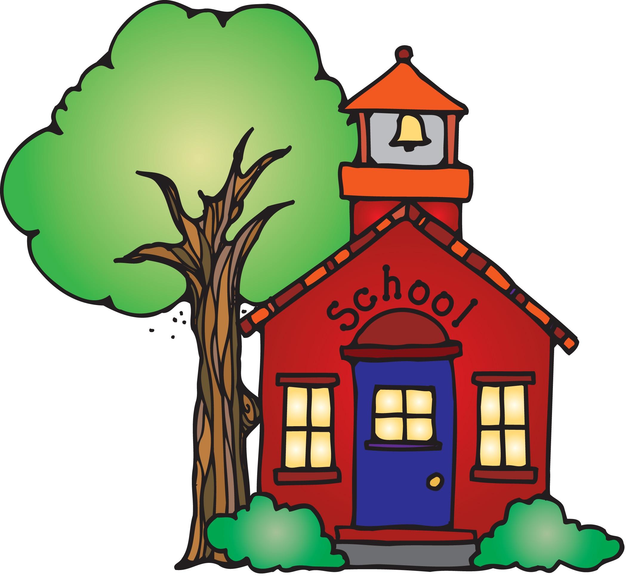 2098x1940 School House Clip Art, Free School House Clip Art