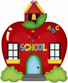236x287 Clip Art School House
