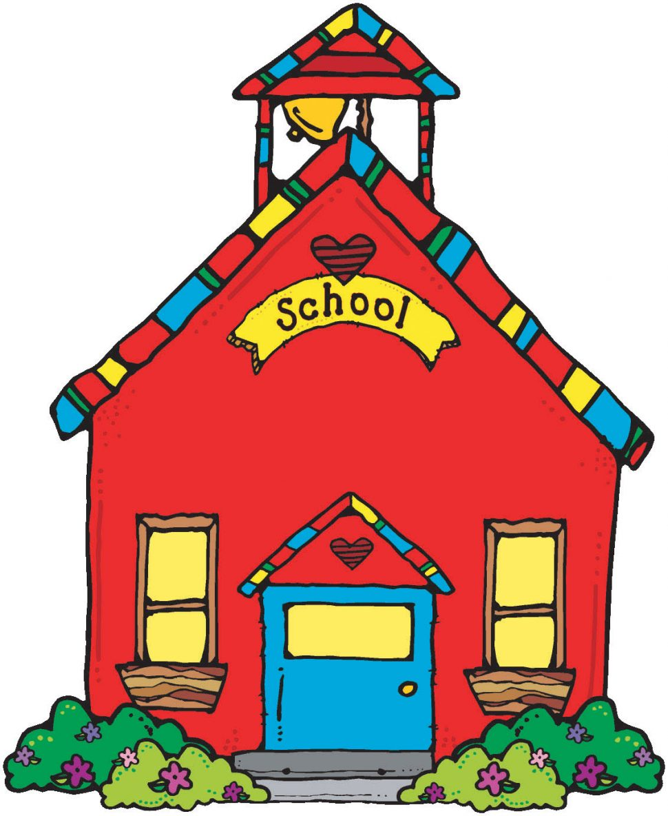 970x1184 Coloring Pages Clip Art School House Clipart Coloring Pages Clip