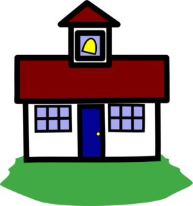 279x299 School House Clip Art