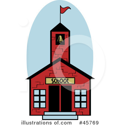 400x420 School House Clipart