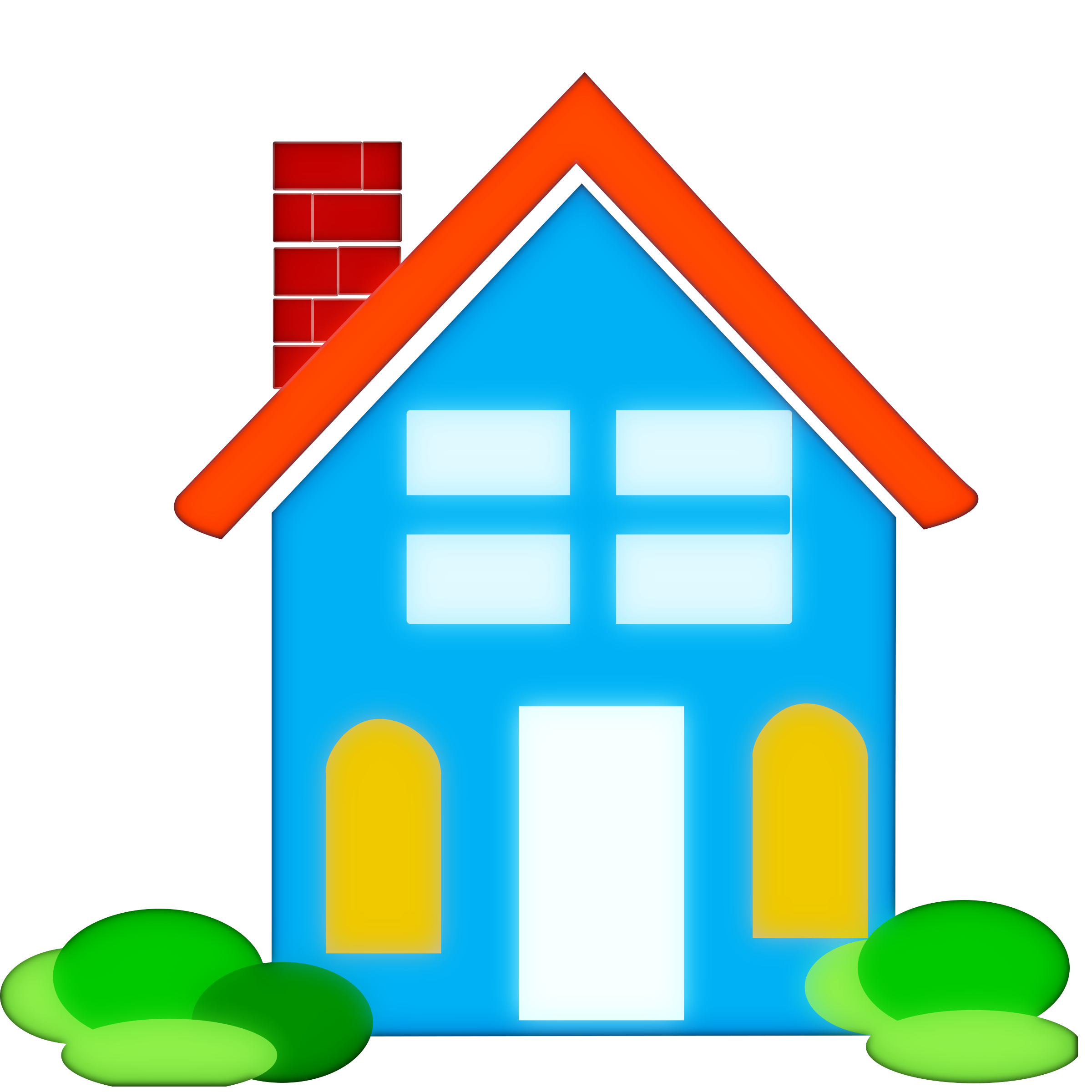 2400x2400 School house clipart free images