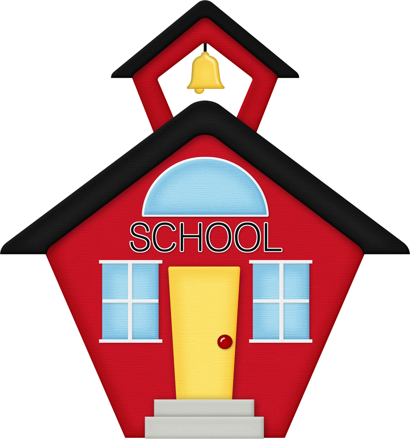 1369x1465 School house schoolhouse silhouette clipart
