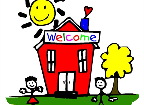 480x350 open house school clipart