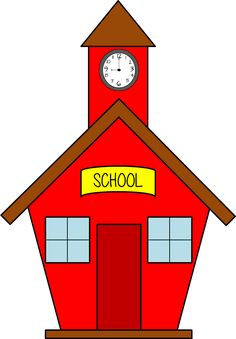 236x339 Clip Art School House