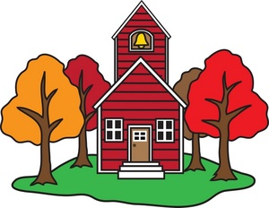 300x232 School House Images Clipart Free Clipart Images