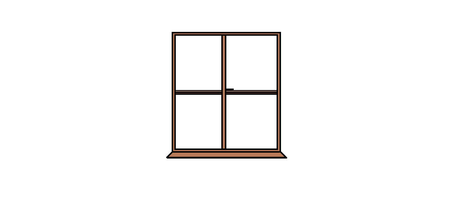 1594x691 Drawn Window Outline