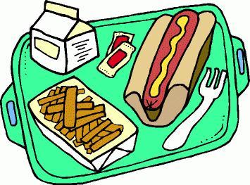 355x263 School Lunch Clipart
