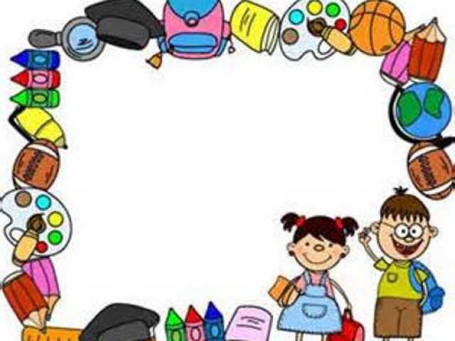 graphic relating to Free Printable School Borders named College Webpage Borders Clipart Free of charge down load least difficult College Web site