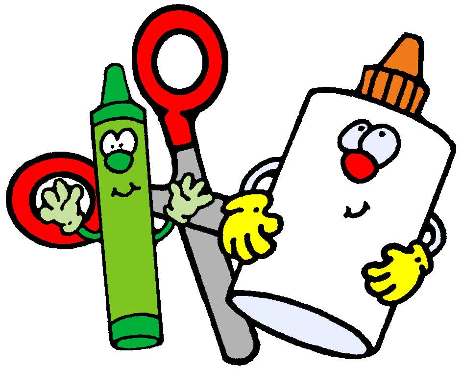 school supplies border clipart 9 - Pre Kindergarten School Supplies