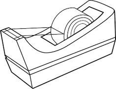 236x183 Black And White Clip Art School Supplies 101 Clip Art