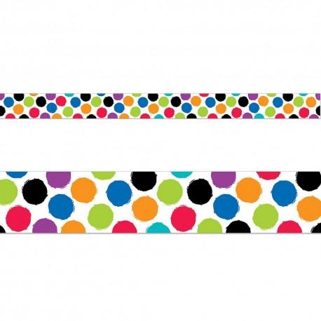 458x458 Bold Amp Bright Colorful Spots Border