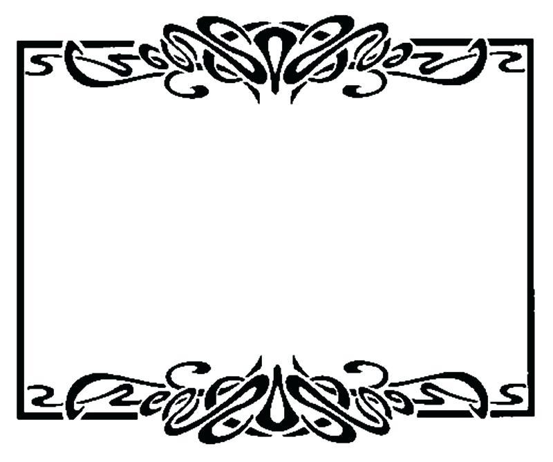 800x668 Free Clipart Borders Border Free Frame Clip Art Teaching Clip Art