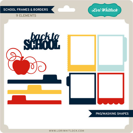 450x450 School Frames And Borders