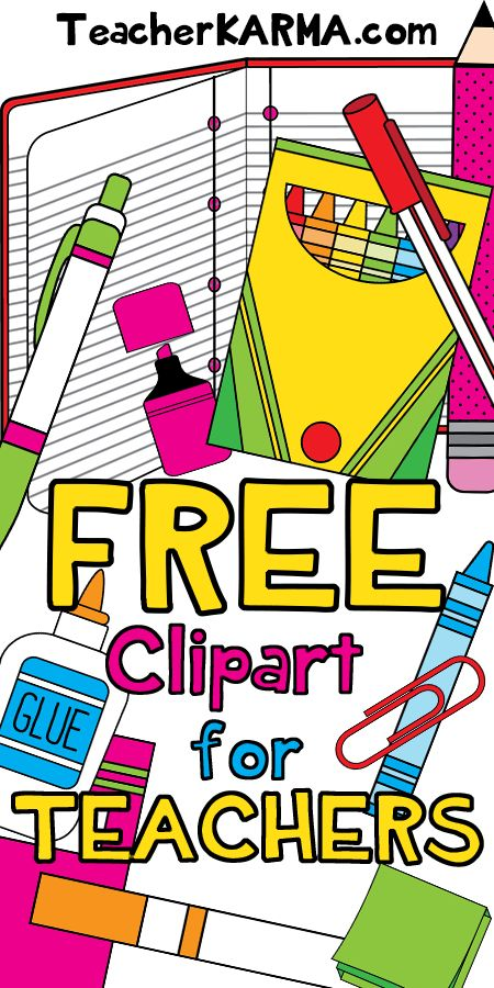 450x900 Water Color Clipart Free School Supply