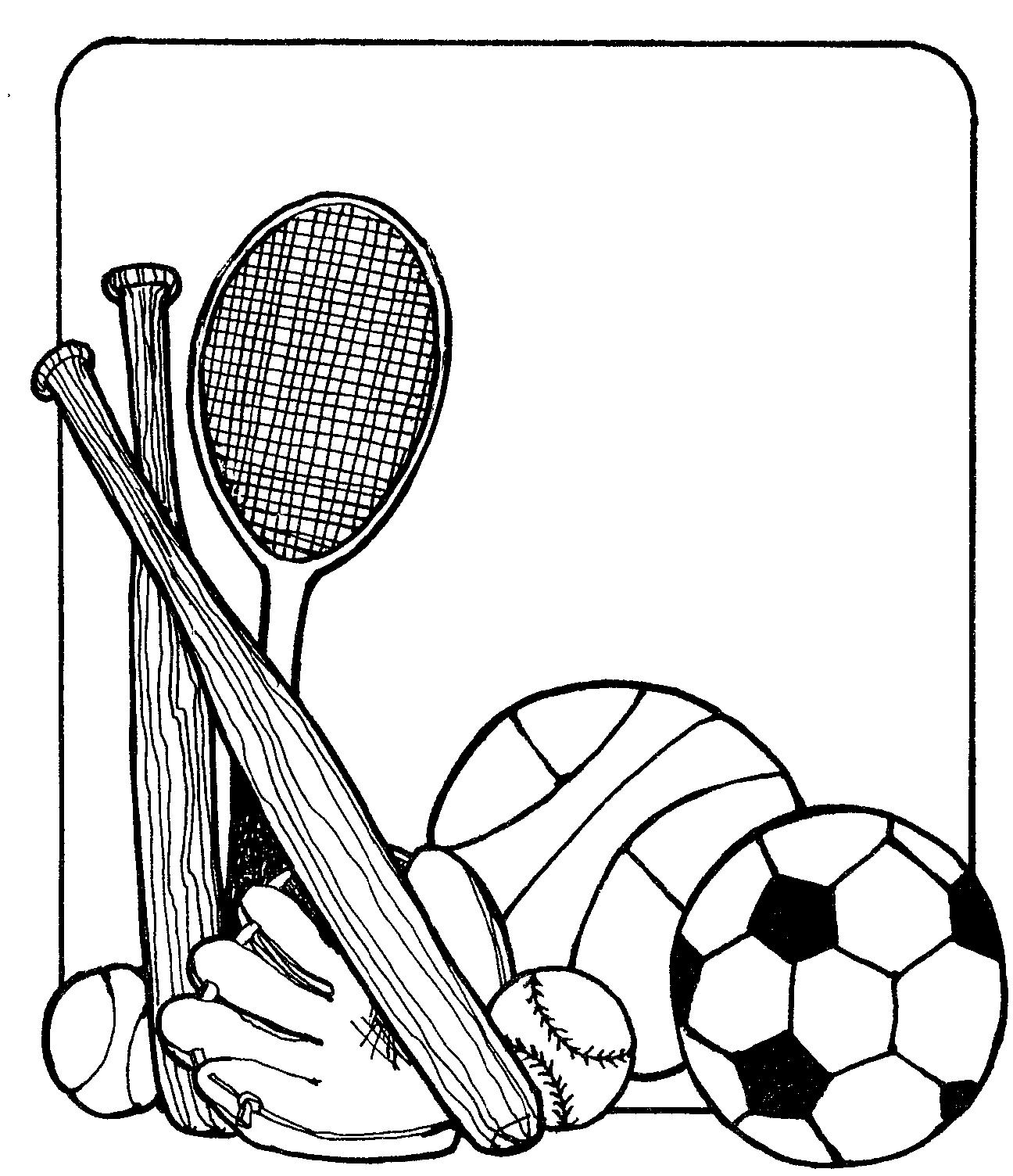 1296x1504 School Sports Clip Art