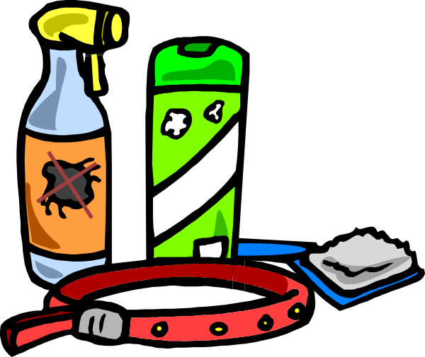 600x505 School Supplies Clip Art
