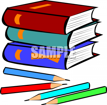 350x345 School Supplies Clipart 2187109