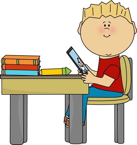 School Table Clipart