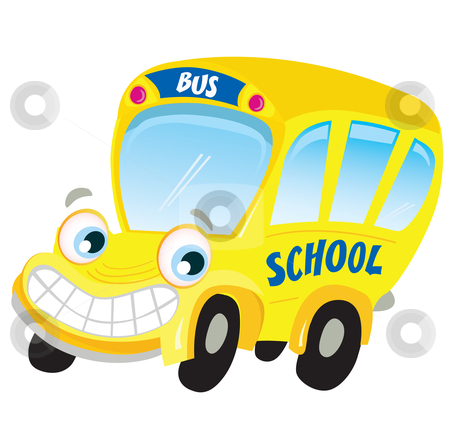 450x438 Cartoon School Bus Clipart