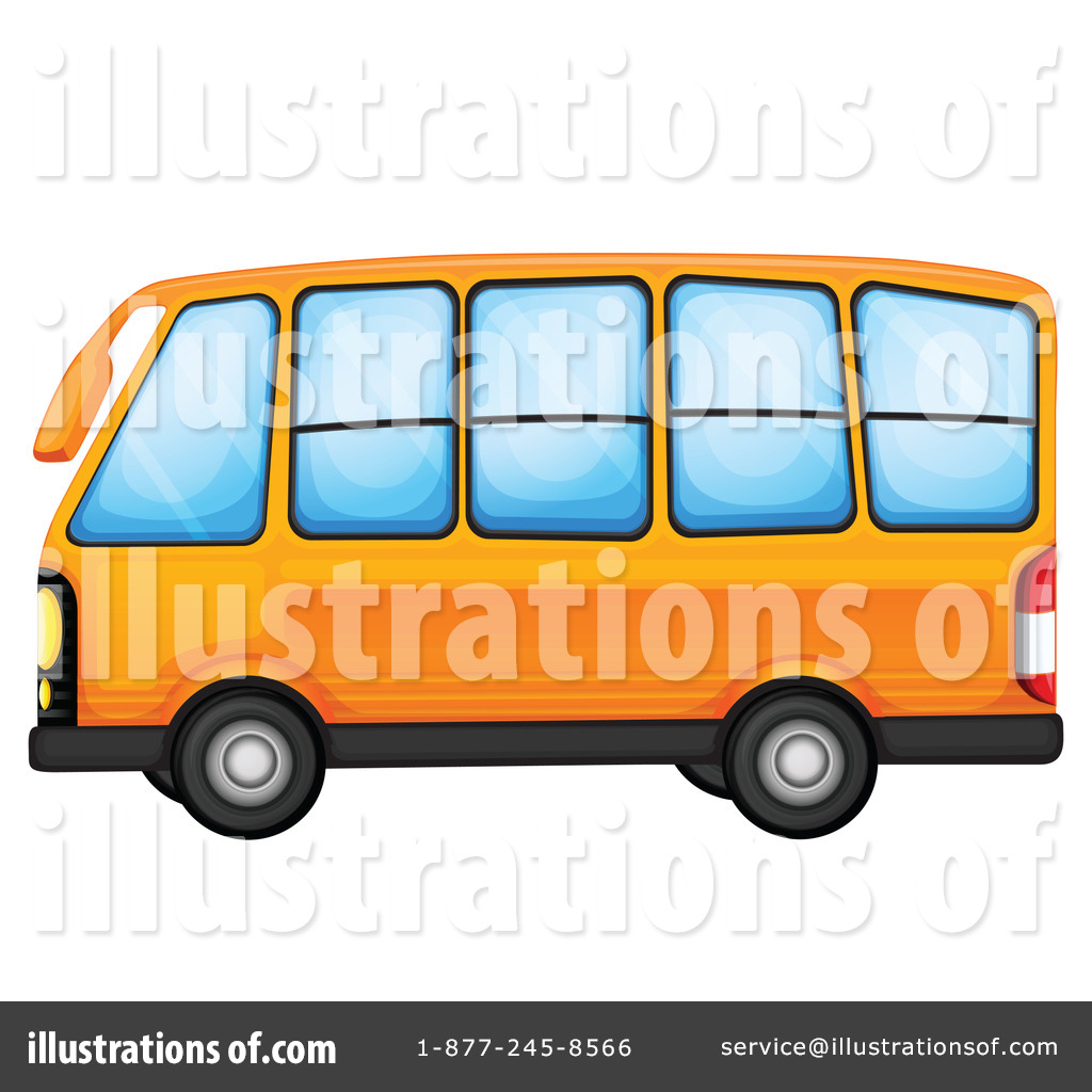 1024x1024 School Bus Clipart