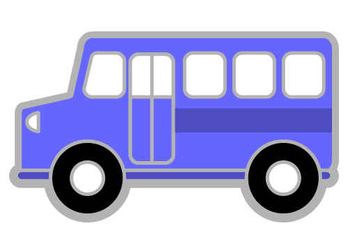 500x347 Shuttle Van Clipart