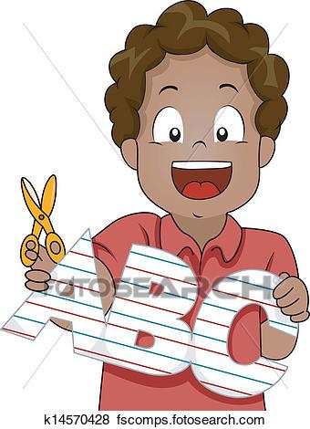 340x470 African School Boy Clip Art Eps Images. 585 African School Boy
