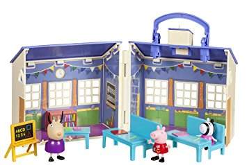 355x238 Peppa Pig School House Playset Figures Toys Amazon.co.uk Toys