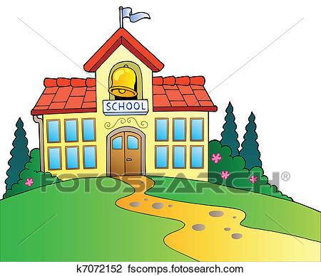450x388 Schoolhouse Clipart Royalty Free. 554 Schoolhouse Clip Art Vector