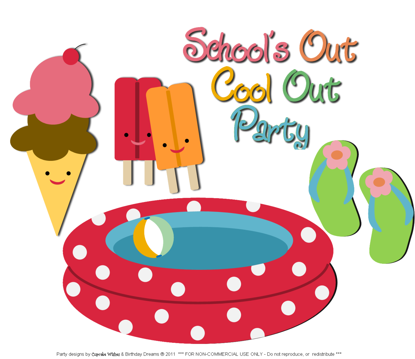 1435x1243 Free End Of School Year Clipart