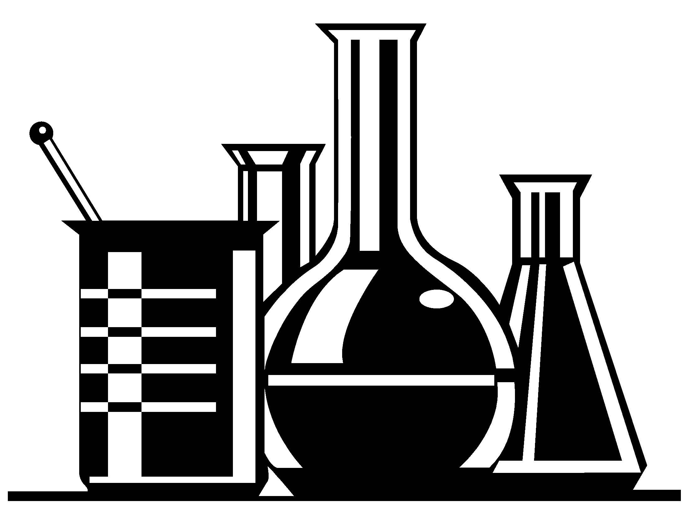 2201x1701 Free Science Clipart Black And White Image