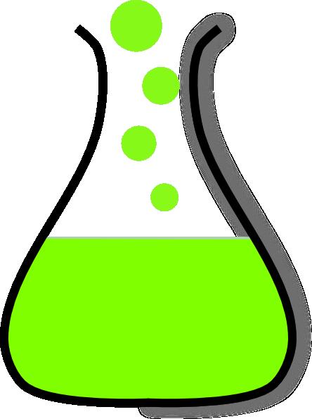 444x595 Beaker Clip Art
