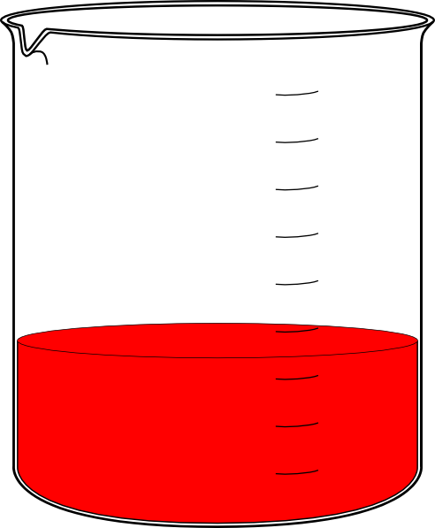 492x597 Red Science Beaker Clip Art