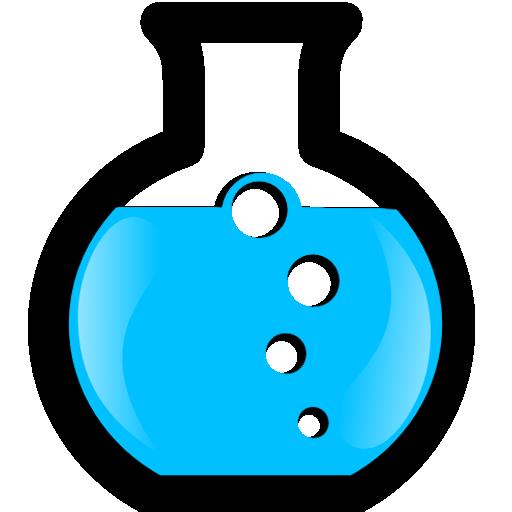 512x512 Science Beaker Clipart