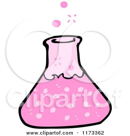450x470 Cartoon Of A Science Beaker