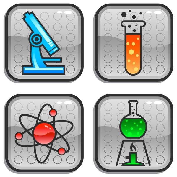599x600 Free Science Clip Art