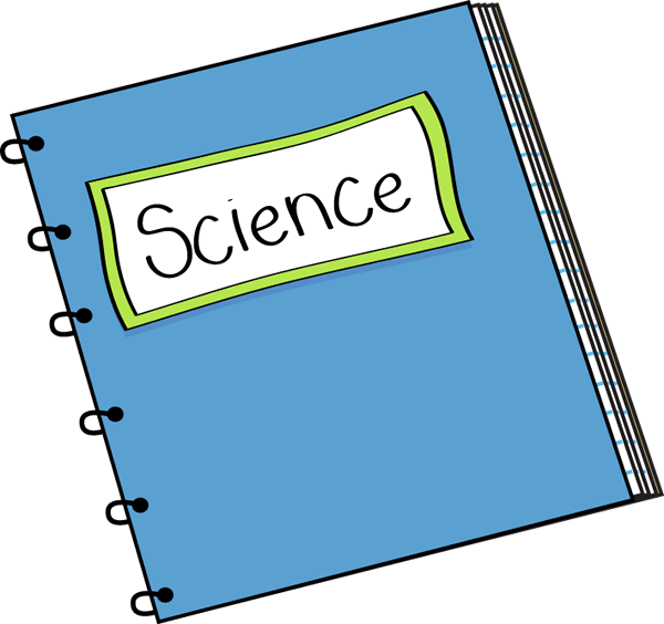600x564 Science Notebook Clip Art