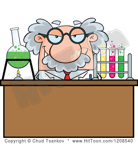 450x470 Science cartoon clipart