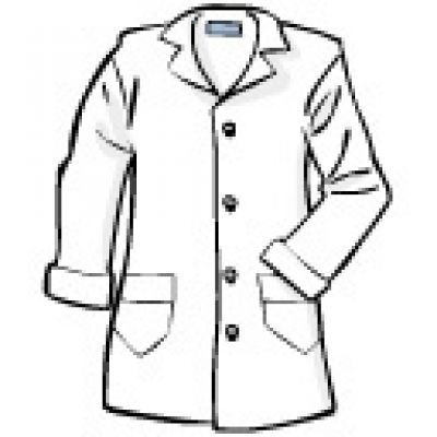 400x400 Science Clipart Labcoat