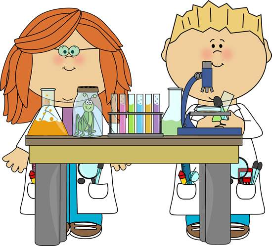 550x498 Kids With Science Clipart