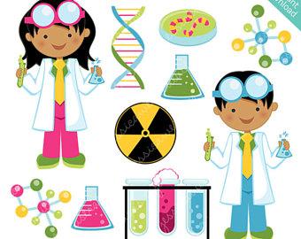 340x270 Scientist Kids Cute Clipart Science Kids Science Clip Art