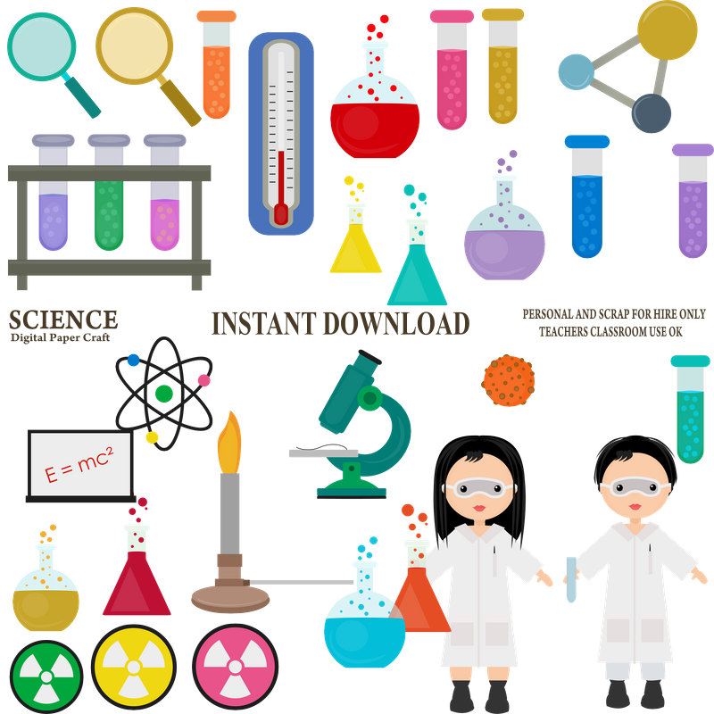 800x800 Science Clipart Chemistry Clipart School Clipart Experiment