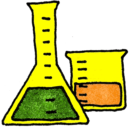 450x441 Science Experiment Clipart