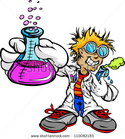 424x470 Scientist Clipart Science Project